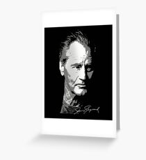 sam shepard Greeting Card
