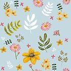 Meadowland Flowers by Belinda Lindhardt