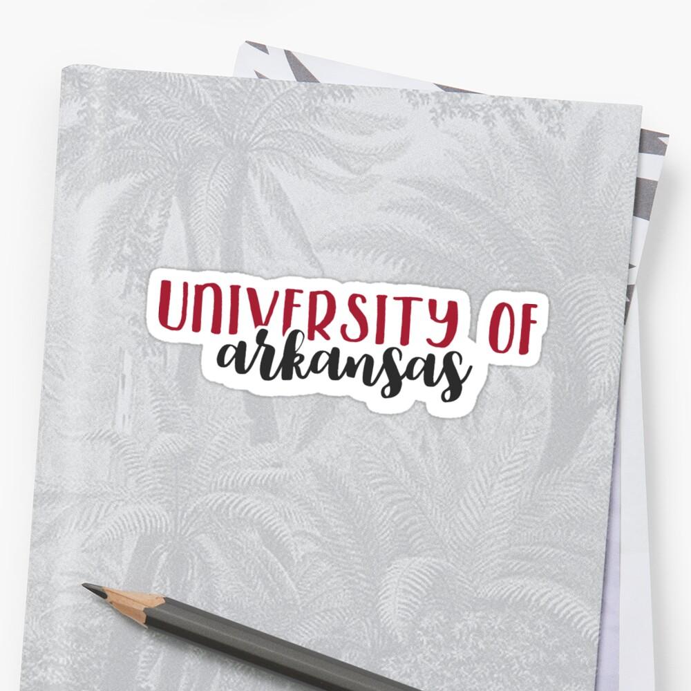 University of Arkansas by Pop 25