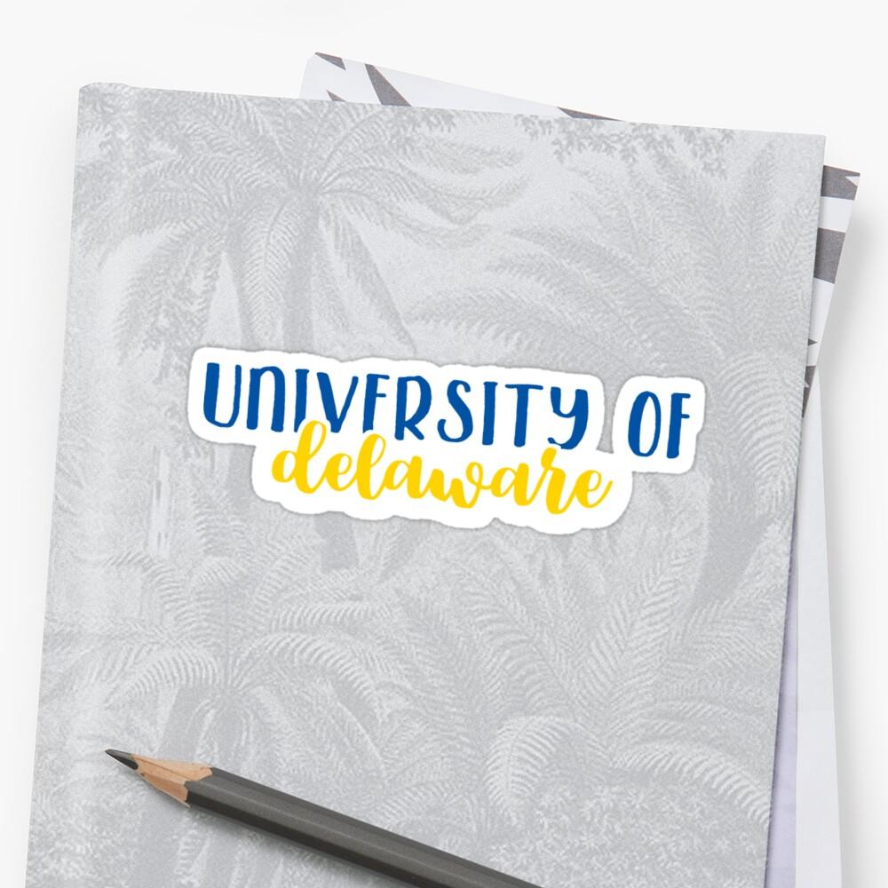 University of Delaware by Pop 25