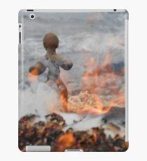Clay People- Flames iPad Case/Skin