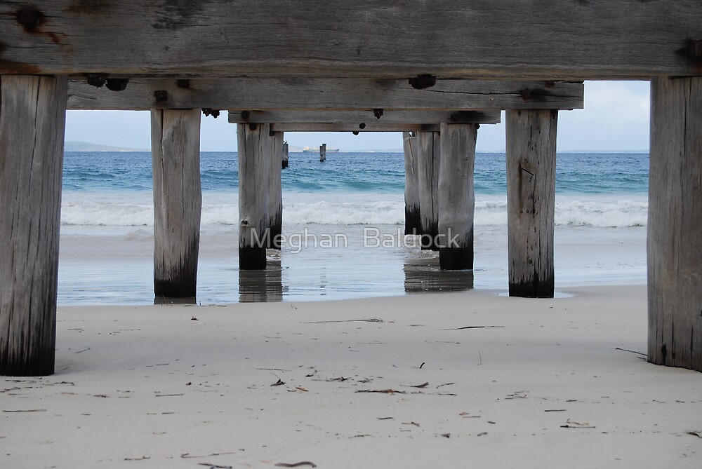 the old jetty by Meghan  Baldock