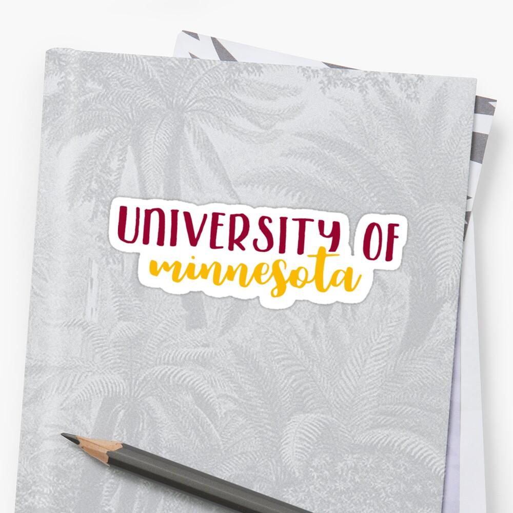 University of Minnesota by Pop 25