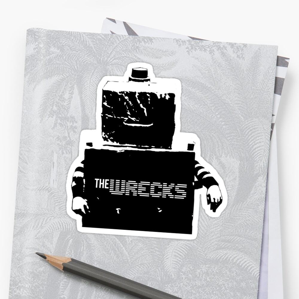 The Wrecks Robot  by IKDESIGNS