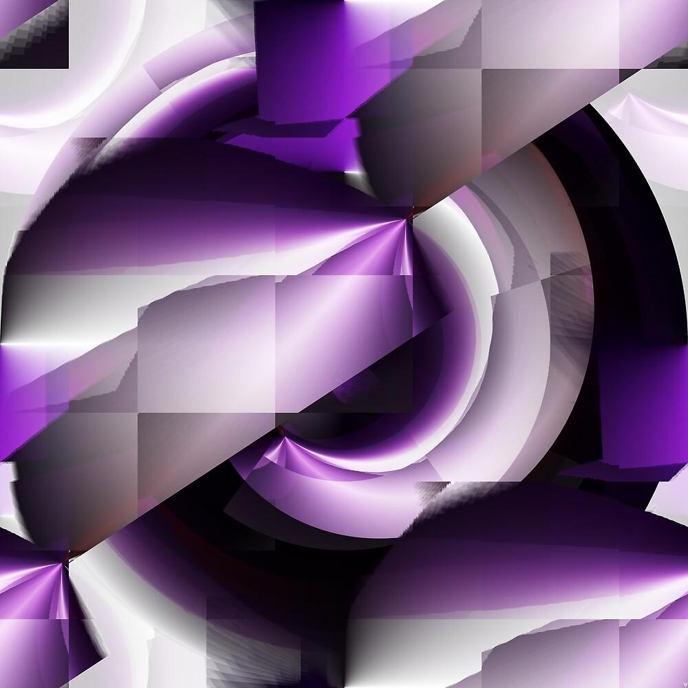A purple spiral by Tiia Vissak