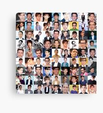 Kevin McHale Collage, Glee - Many Item Available Canvas Print