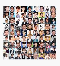 Kevin McHale Collage, Glee - Many Item Available Photographic Print