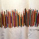 COLORED PENCILS by WhiteDove Studio kj gordon