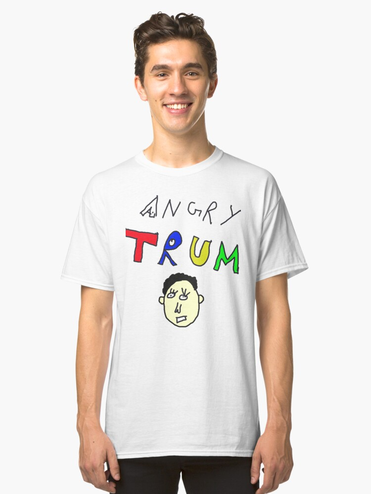 Angry Trump Classic T-Shirt Front