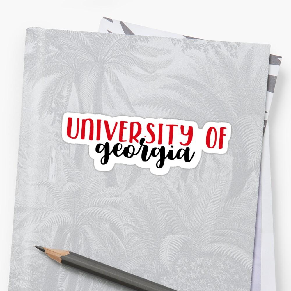 University of Georgia by Pop 25