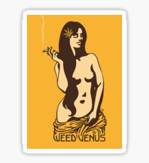 Venus Weed Sticker