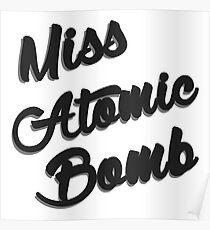 Fräulein Atombombe Poster