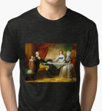 Edward Savage The Washington Family Tri-blend T-Shirt