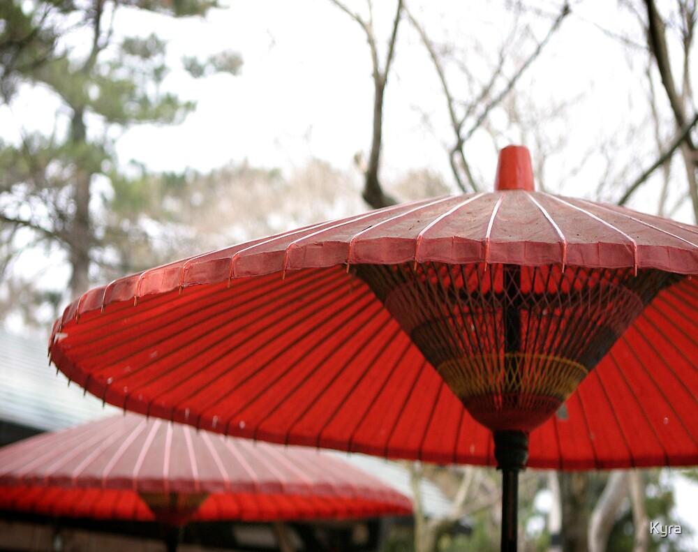 Nara umbrella by Kyra  Webb