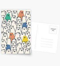 Bären Postkarten