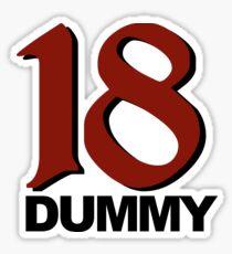 18 Dummy Sticker