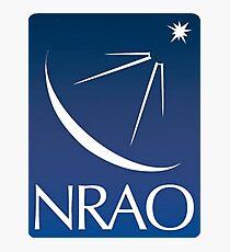 National Radio Astronomy Observatory Modern Logo Photographic Print