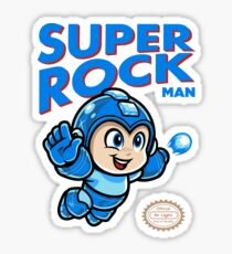 Super Rock Man Sticker