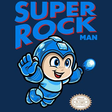 Super Rock Man by harebrained