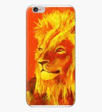 Krafttierbild Löwe - Totem Animal Lion iPhone-Hülle & Cover