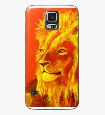 Krafttierbild Löwe - Totem Animal Lion Hülle & Skin für Samsung Galaxy