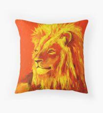 Krafttierbild Löwe - Totem Animal Lion Kissen