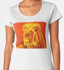 Krafttierbild Löwe - Totem Animal Lion Frauen Premium T-Shirts