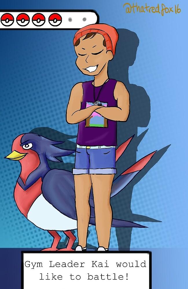 Kai the Gym Leader by thatredfox16