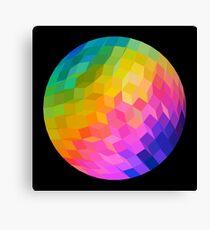 Rainbow Ball Canvas Print