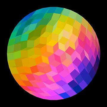 Rainbow Ball by Girih