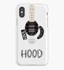 CAL BASS (W/ HOOD) iPhone Case
