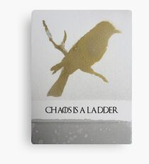 Chaos Is A Ladder- Mockingjay Canvas Print