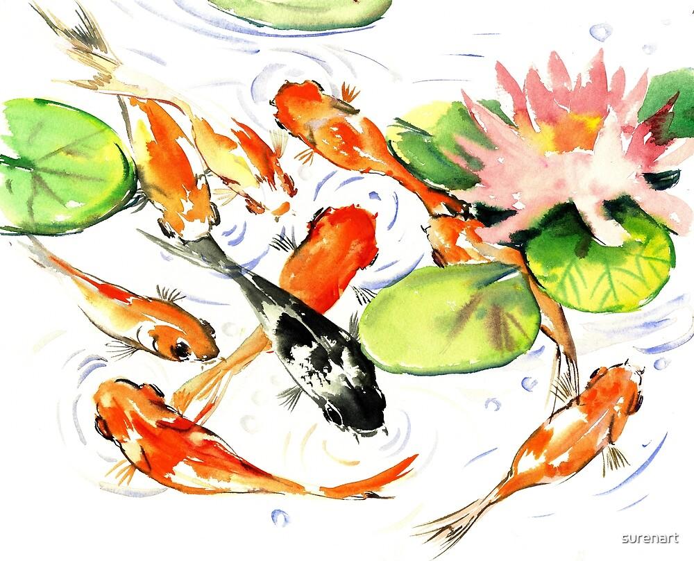 KOI FISH by surenart