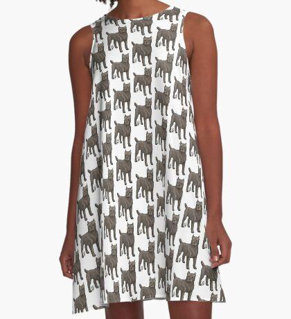 Cane Corso A-Line Dress