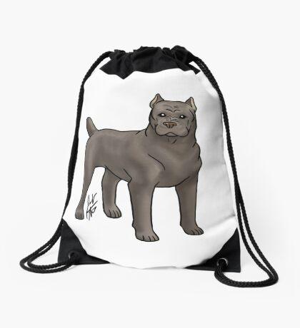 Cane Corso Drawstring Bag