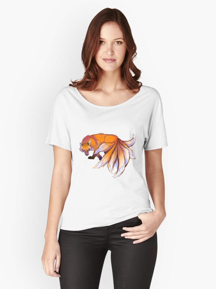9 tailed fox Women's Relaxed Fit T-Shirt Front