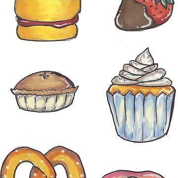 Dessert food by SivanB