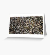 Jackson Pollock. Alchemy  Greeting Card