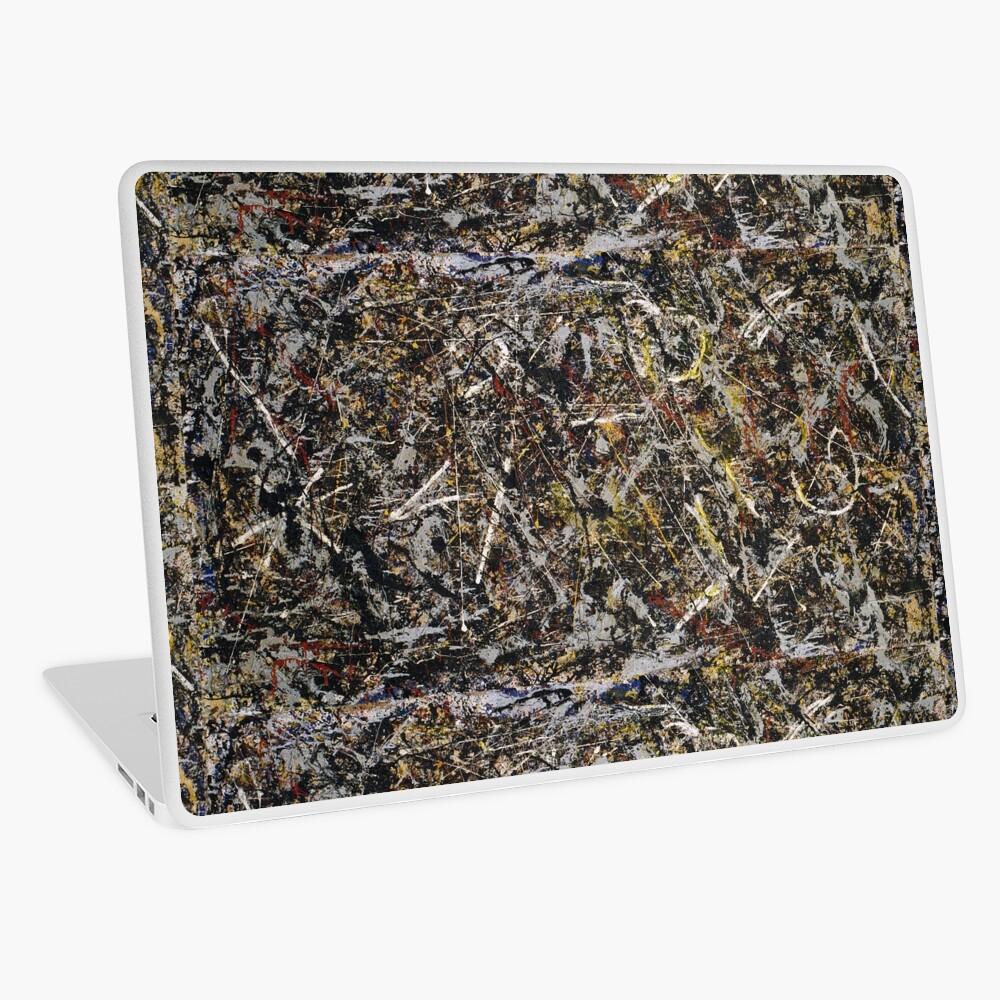 Jackson Pollock. Alchemy  Laptop Skin