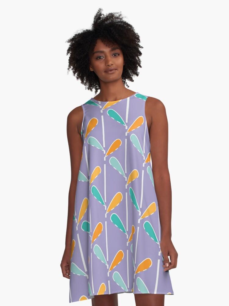 Pattern A-Line Dress Front