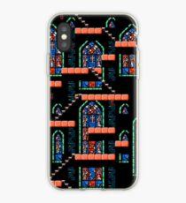Castlevania III - Window Panes iPhone Case
