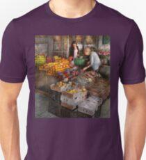 Storefront - Hoboken, NJ - Picking out fresh fruit T-Shirt