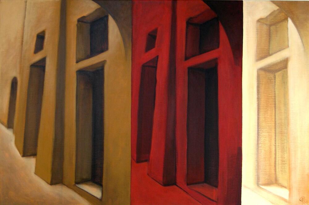 Through the red by Franco Coluzzi