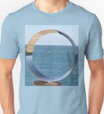 Sculptures By Sea,Australia - Boat In Circle 2016 T-Shirt