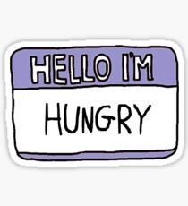 Hello I'm Hungry Sticker