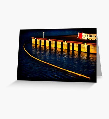 Dockland 1 Ortonized Greeting Card