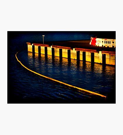 Dockland 1 Ortonized Photographic Print