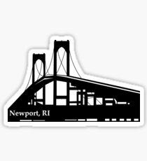 Newport Bridge RI Sticker