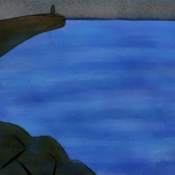 Overcast Ocean by Knai-Locus