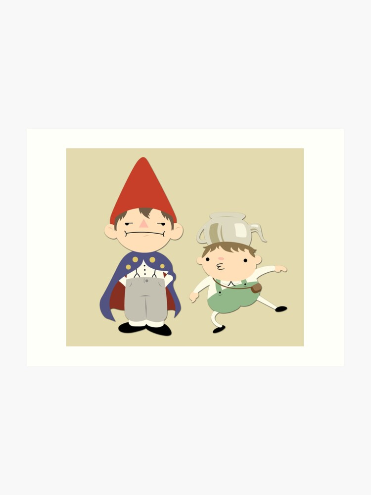 Greg And Wirt Over The Garden Wall Art Print